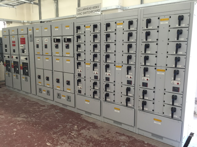 Cellarhead 400v Switchboard